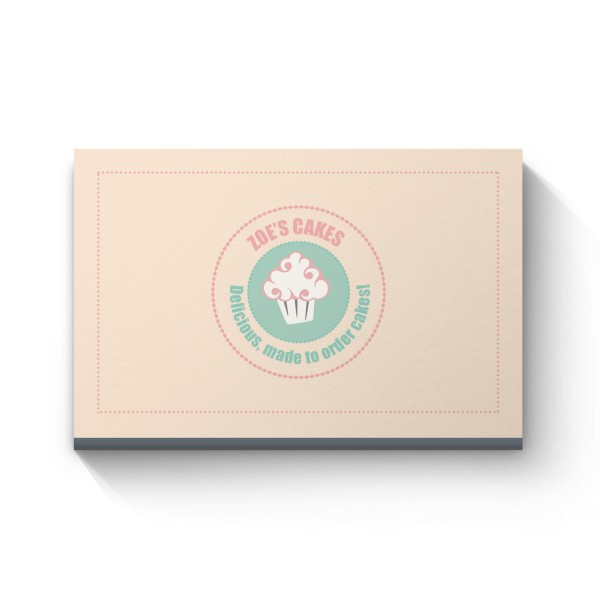 zoes cakes Business Cards