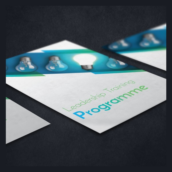 Leadership Training Programme Brochure Design